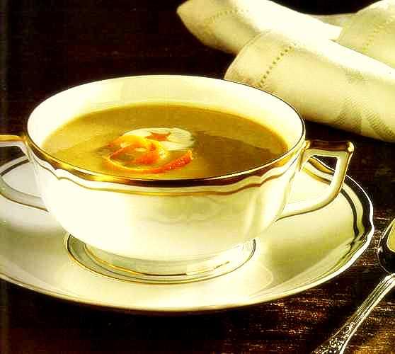 portakallı mercimek çorbası