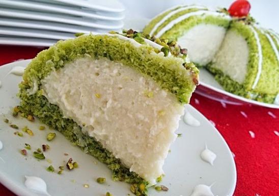 ıspanaklı köstebek pasta  nasıl yapılır