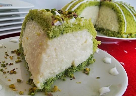ıspanaklı köstebek pasta