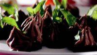 Çikolatalı Muhallebi Toplar