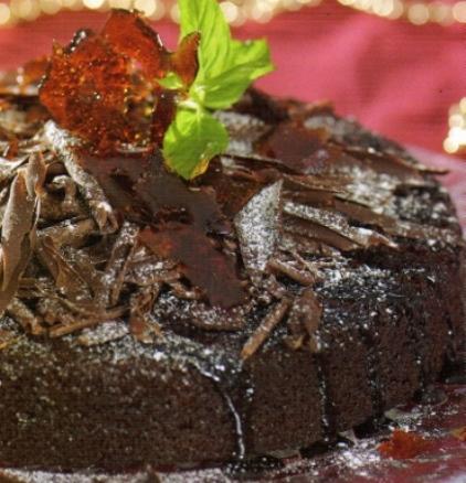 Cevizli Çikolatali Pasta Tarifi