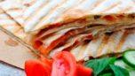 Lavaş Ekmeğinden Karışık Tost