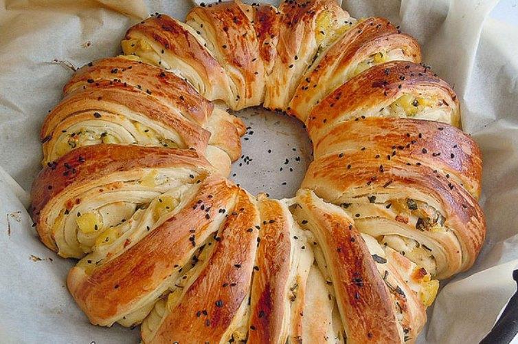 Patatesli Simit Börek Tarifi