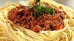 Patlıcanlı Kıymalı Spagetti