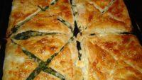 Peynirli Ispanaklı Börek