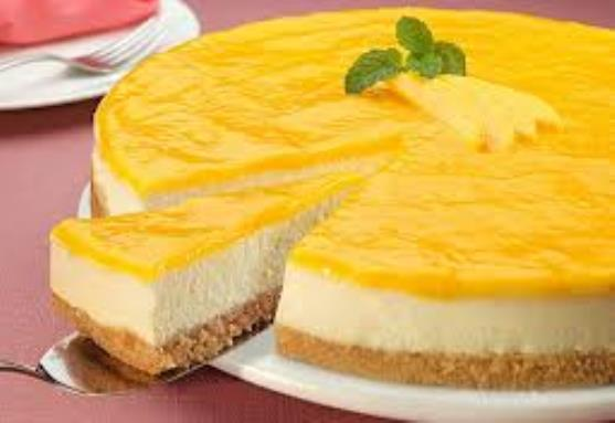 Portakallı Kolay Cheesecake Tarifi