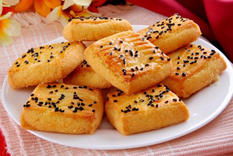 Çörek Otlu Kurabiye