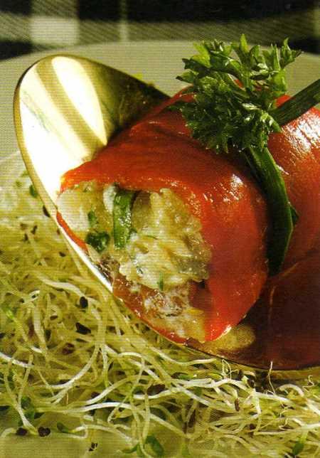 Kırmızı Biberli Patlıcan Salatası