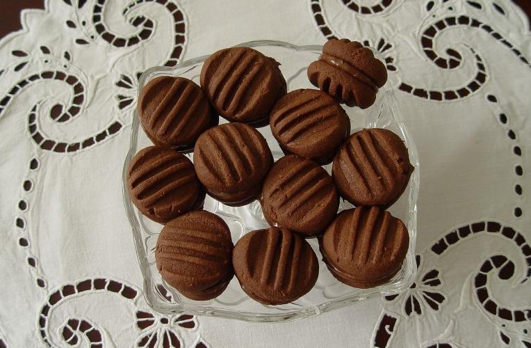 Kakaolu Fındık Kremalı Kurabiye Yapımı