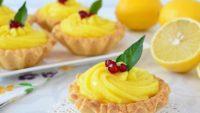 Limon Kremalı Mini Tartlar