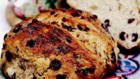 Kuru Dutlu Ve Yaban Mersinli Çavdar Ekmeği