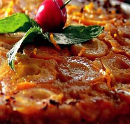 Kepekli Kayısılı Pasta Tarifi