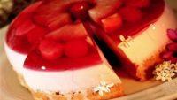 Yoğurtlu Jöleli Pasta