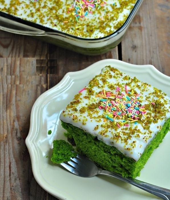 kremalı ıspanaklı kek