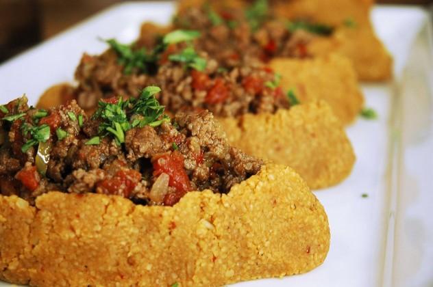 kıymalı patates köftesi