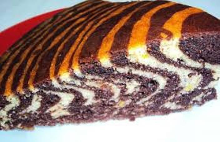 Zebra Kek Yapımı