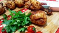Baharatlı Mısır Unlu Tavuk Kızartması