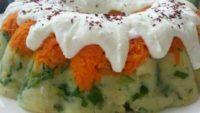 Kalıpta Havuçlu Patates Salatası